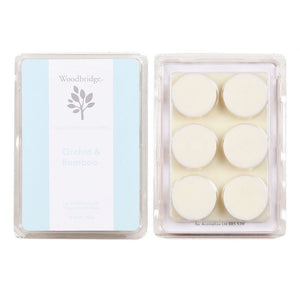 Woodbridge Soy Wax Melt 6 Pack - Orchid & Bamboo