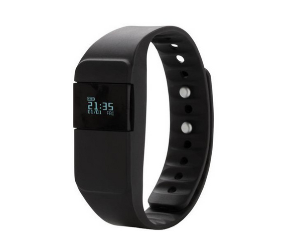 Basic Fitness Tracker - schwarz