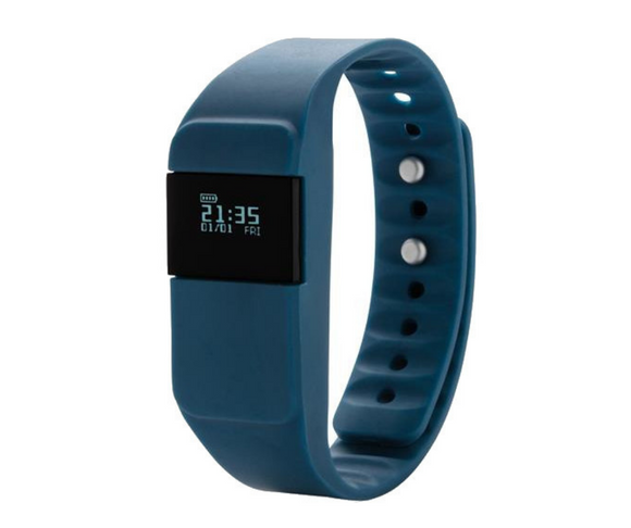 Basic Fitness Tracker - blau