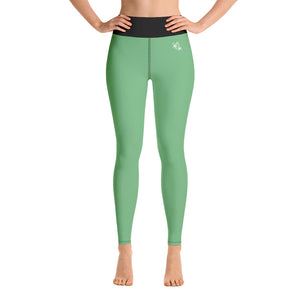 Fitness Leggings - special grün