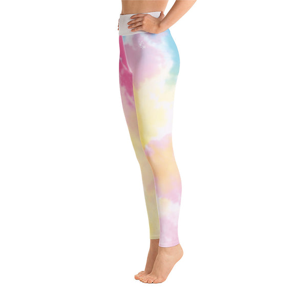Fitness Leggings - Rainbow Art