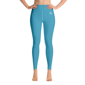 Fitness Leggings - blau