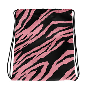 Gym Bag - Animal Print - pink