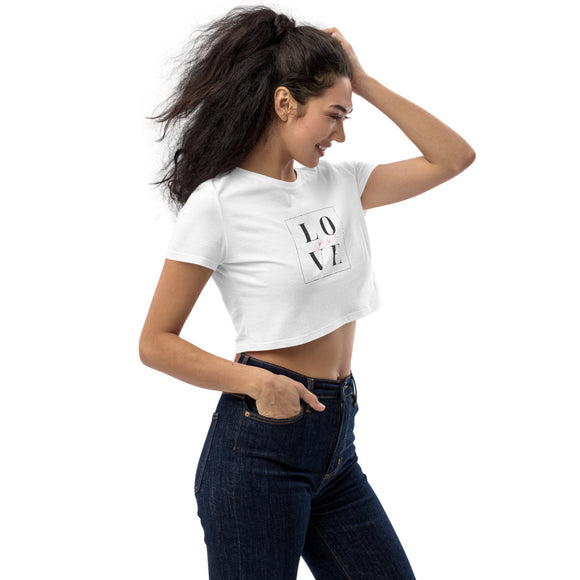Crop Shirt - LOVE