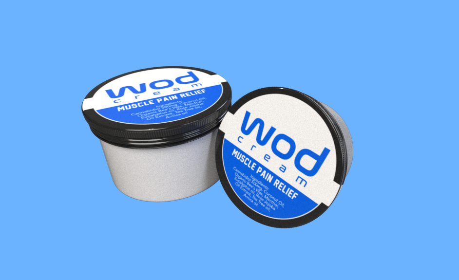 WODcream 500mg CBD Muscle Pain Cream