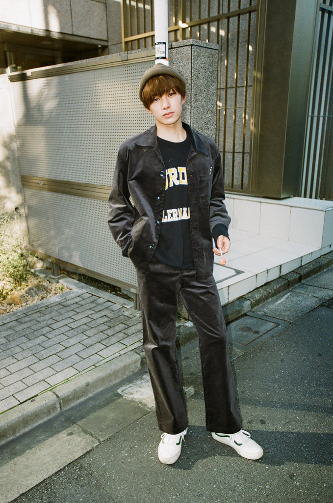 [1/11(月)21:00-]9090 Original Corduroy Pants(ブルー)【original】