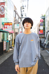 Fake ghost long T(deep blue)【original】