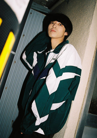 [1/16(土)21:00-]9090 original nylon jacket(green)【original】