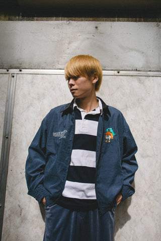 [10/3(sat)21:00~受注生産] 9090 original swing top (navy)【original】