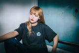 [POP-UP&Online 受注生産] over × 9090 × マツモト Skater Girl T( light black)【original】
