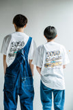 [6/21(Sun)19:00- 受注生産] m2n dusky yellow car T(white)【original】
