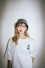 [POP-UP&Online 受注生産] over × 9090 Pretty Girl T (dull blue)【original】