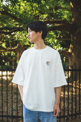 [8/22(Sat)21:00- ] 9090 Original Ruler's Pizza Tee(white)【original】