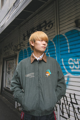 [10/3(sat)21:00~受注生産] 9090 original swing top (green)【original】