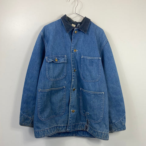 Carhartt denim over jacket【used】