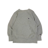 CHAMPION GRAY REVERSE WEAVE SWEAT