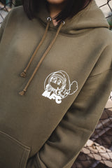 [12/9(wed)21:00~]MFC × 9090 I DON'T WANNA BE CLONE Hoodie(オリーブ)【original】