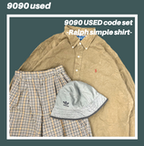 【used set】7:Ralph simple shirt code