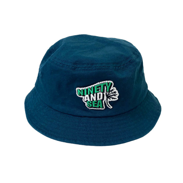 [3/9(火)21:00-]9090 × WIND AND SEA bucket hat(くすみエメラルド)【original】