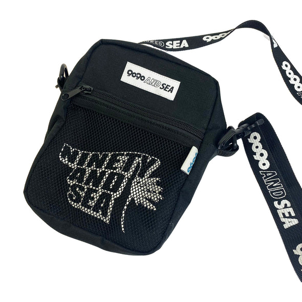 [3/9(火)21:00-]9090 × WIND AND SEA shoulder bag(ブラック)【original】