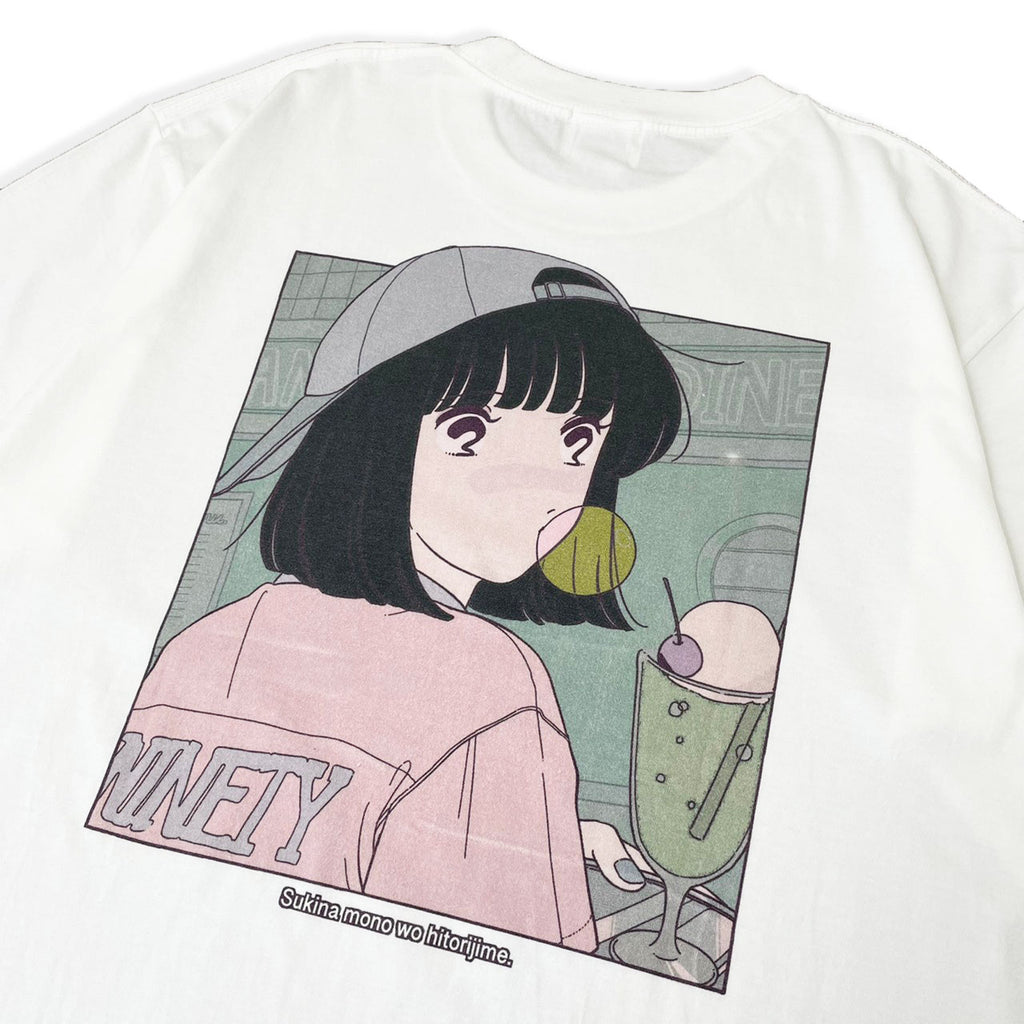[3/30(火)21:00-]cream soda T green 21ss limited(ホワイト)