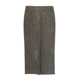 BROOKS BROTHERS Gray Corduroy Pants 【used】