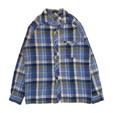 BRAND CHECK SHIRT【used】