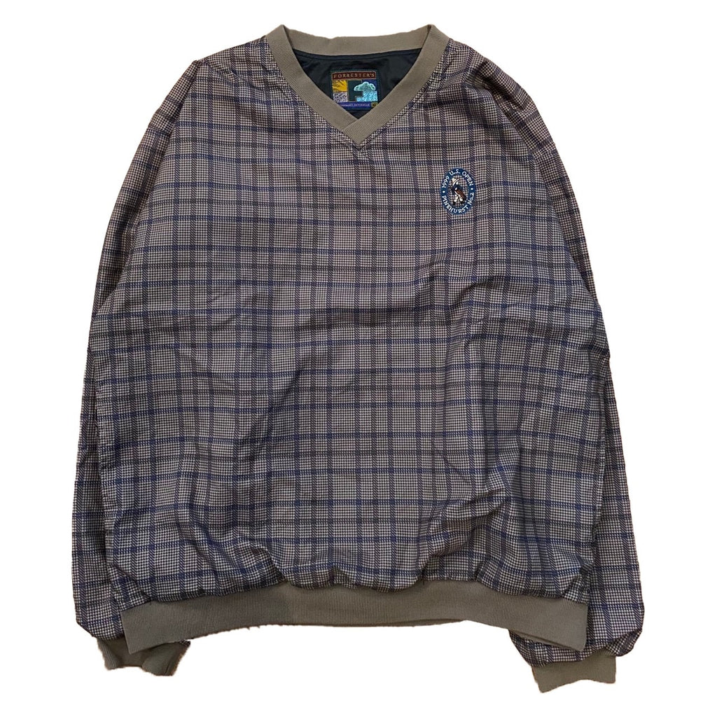 check nylon pullover【used】