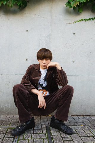 [1/11(月)21:00-]9090 Original Corduroy Pants(ブラウン)【original】