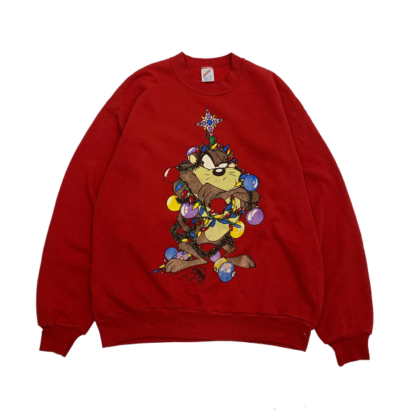 LOONEY TUNES Red Sweat【used】