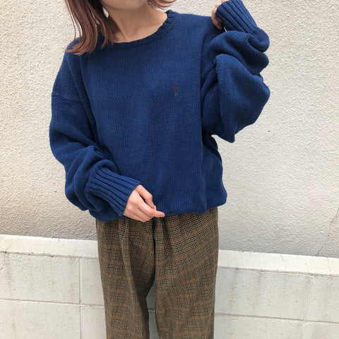 Ralph blue knit【used】