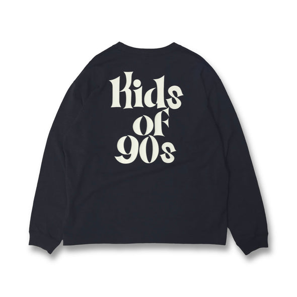[3/16(火)21:00-]COWDEN × 9090 × FREAK'S STORE kids of 90s Long Tee (グレー)【original】