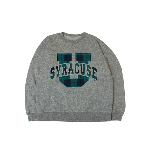 SYRACUSE Gray Sweat【used】
