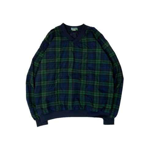 WINNER MATE Polyester Check pullover【used】