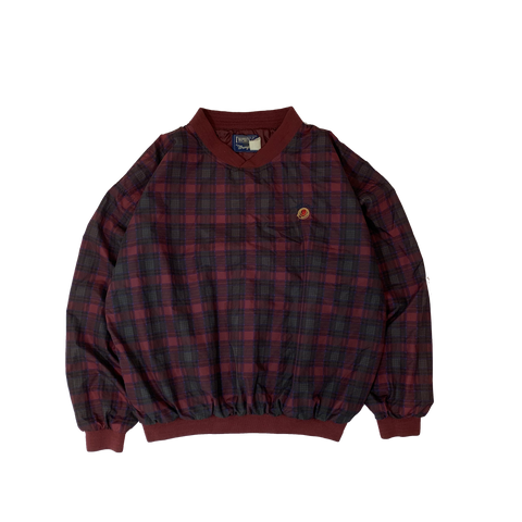 TWENTY X  Polyester Check pullover【used】