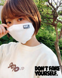 9090 Don't fake yourself mask【original】