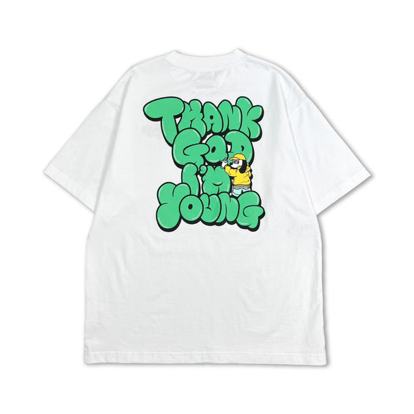 [4/17(土)21:00-]centimeter × 9090 Graffiti Tee(ホワイト)【original】
