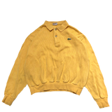LACOSTE yellow polo 【used】