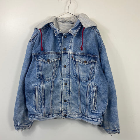 Levi strauss reversible denim jacket【used】