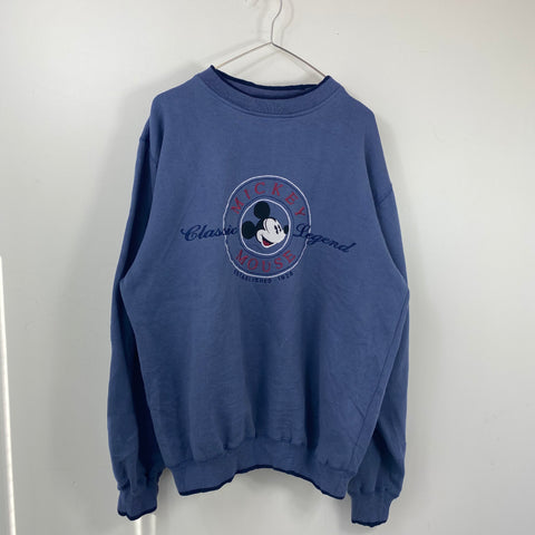 Mickey mouse blue sweat【used】