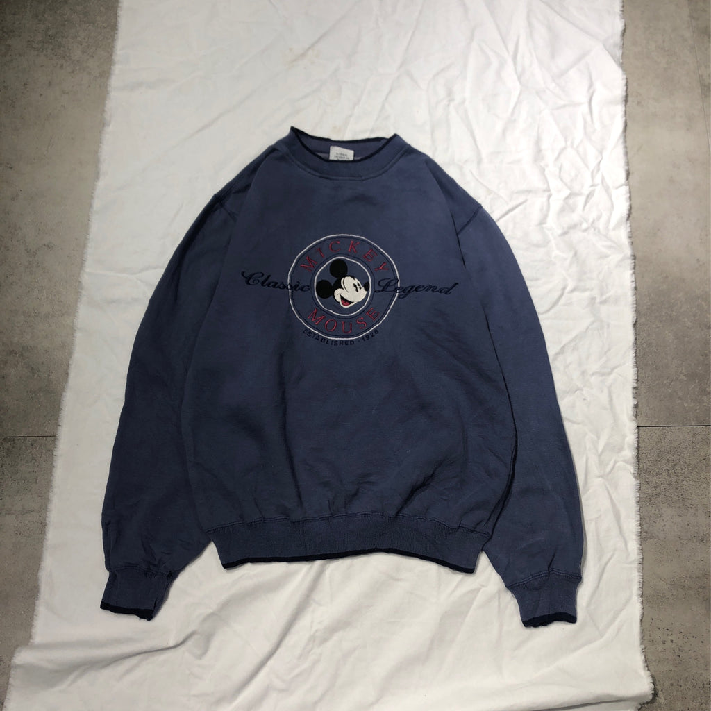 Micky navy sweat【used】