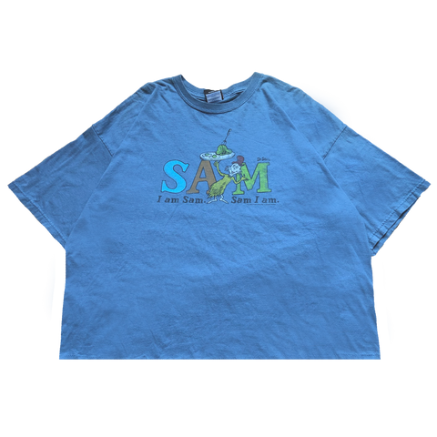 Dr.Seuss blue T【used】
