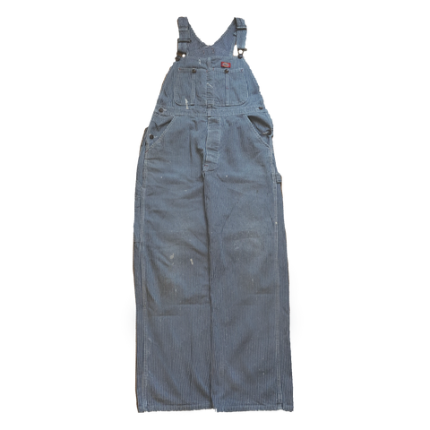 Dickies blue stripe overall【used】