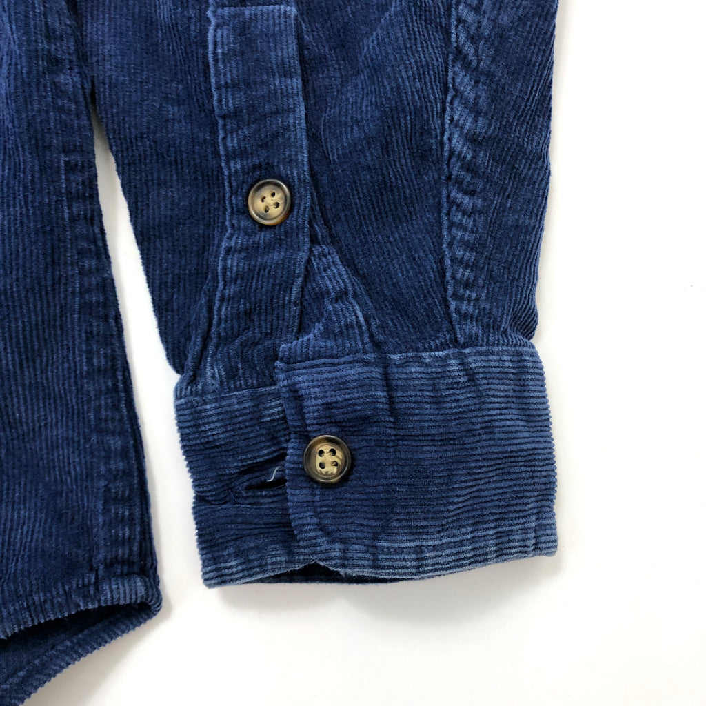 Polo by Ralph Lauren Navy Corduroy Shirt【used】