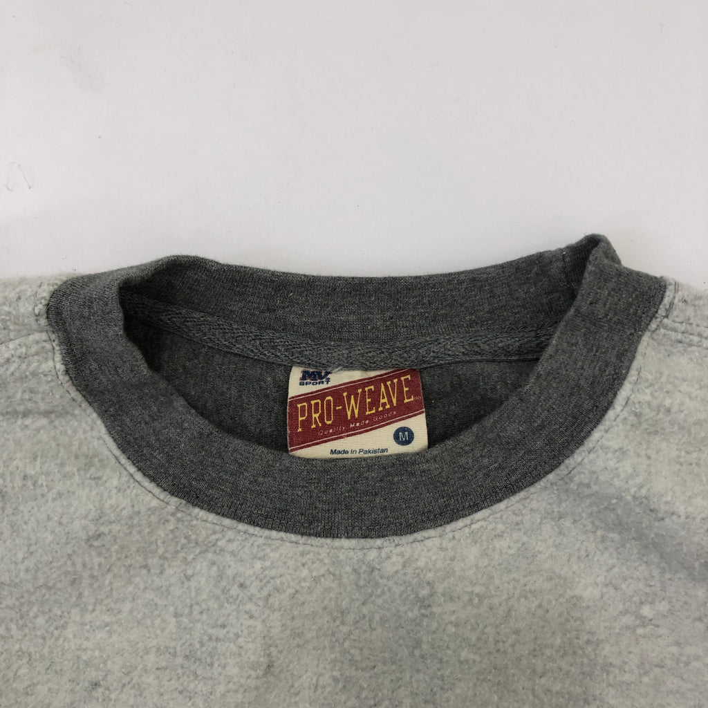 Inside out Gray College Sweat【used】