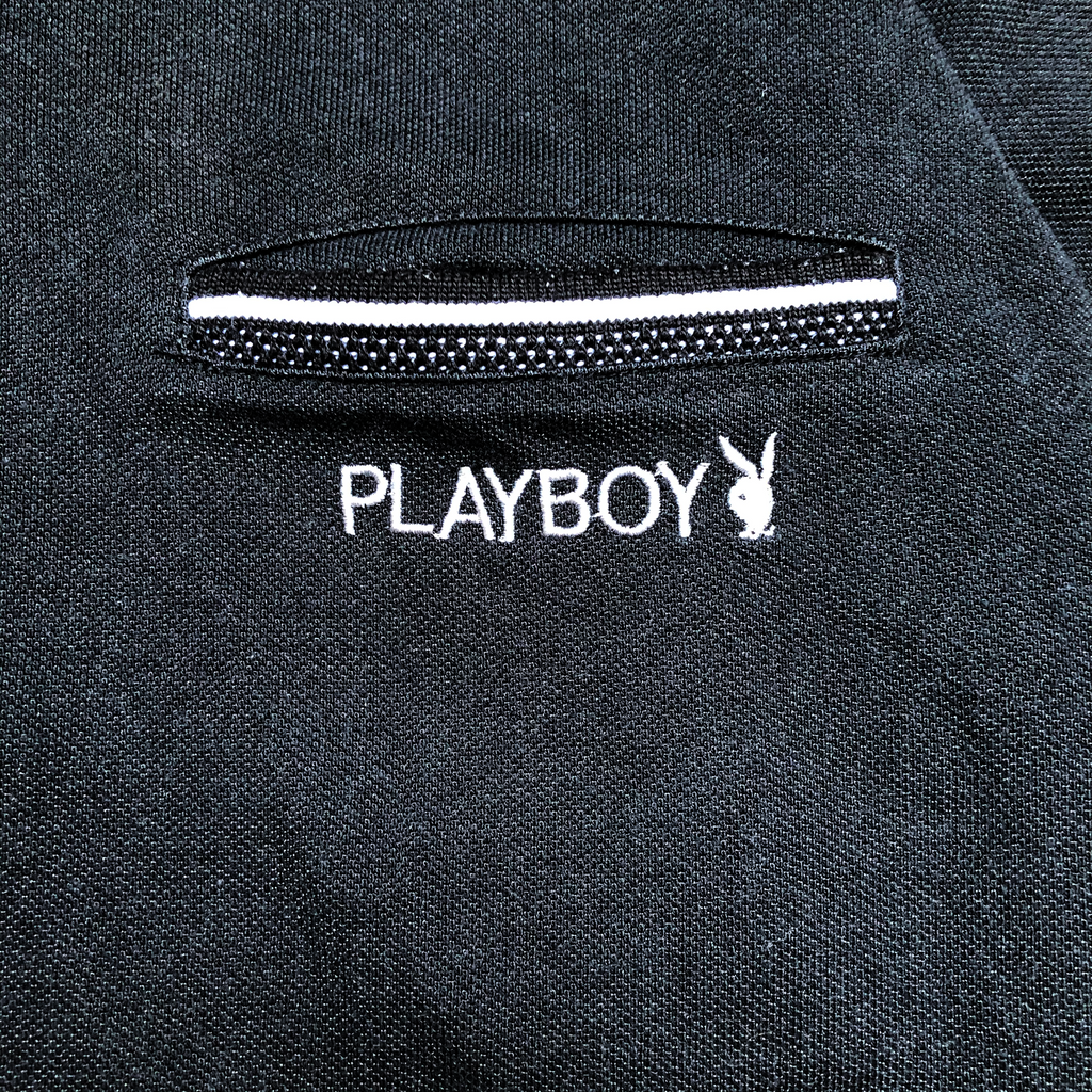 Playboy black polo【used】