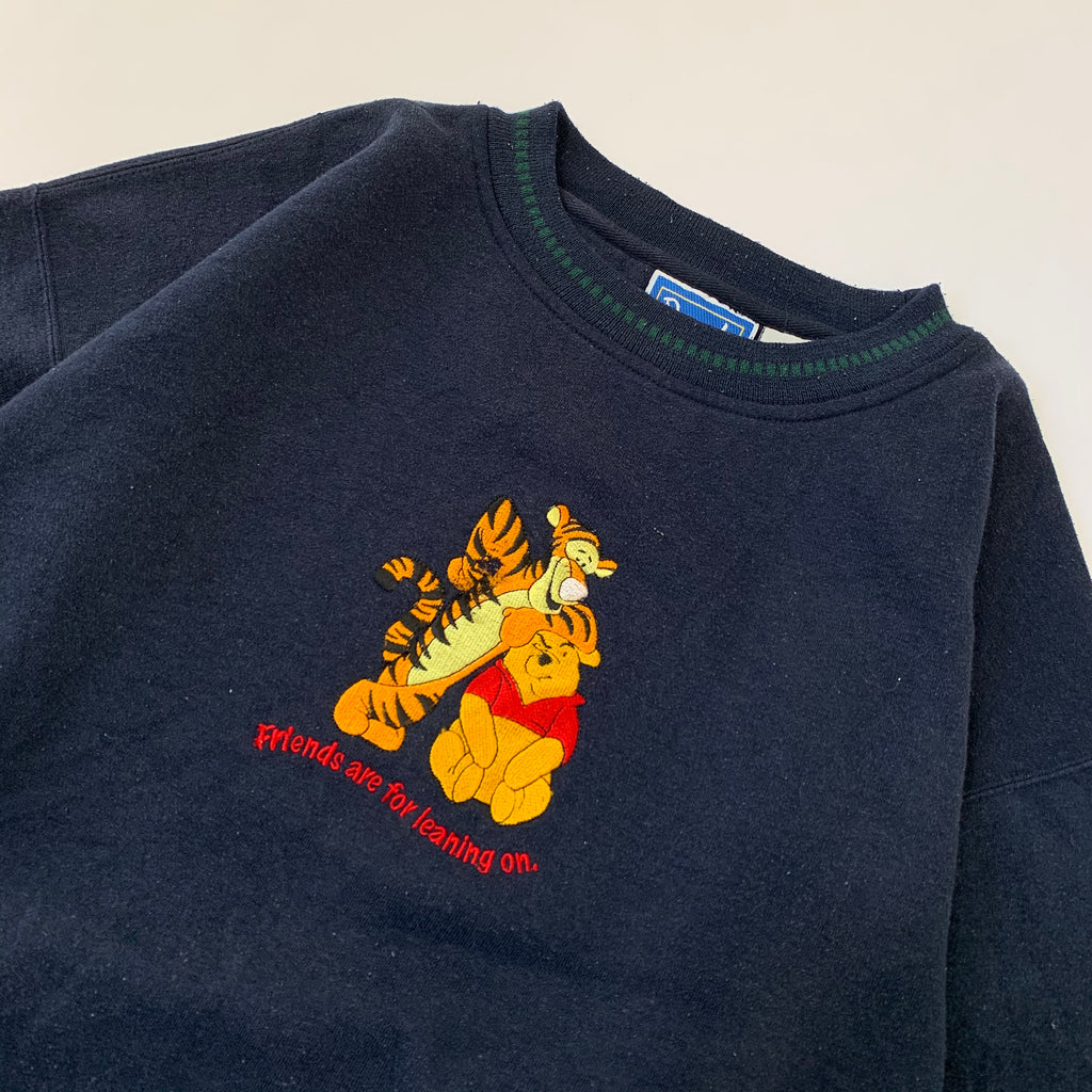Pooh  Rib Line Sweat【used】