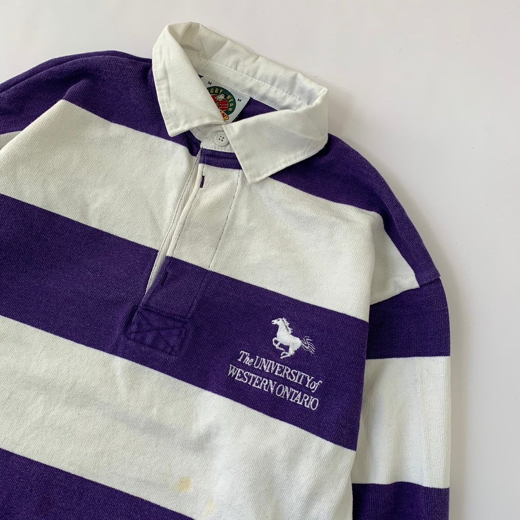 Purple Rugby Shirt【used】