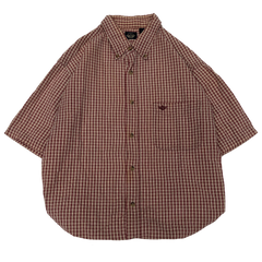 Dockers red check work shirts【used】