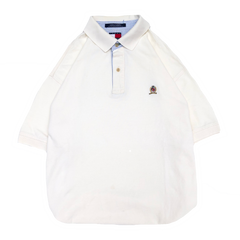 Tommy white polo【used】